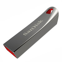 Memoria flash USB Cruzer Force Metal de 16GB
